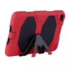 Jual Hot Waterproof Dirt Shockproof Silicone Back Stand Case Cover untuk IPad2/3/4 Merah-Intl