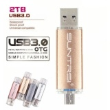 Jual Beli Online Hot Sell2Tb Usb 3 Otg Untuk Android Telepon High Speed Memory Stick Usb Flash Drive Logam Nbsp Rr Intl