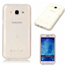 Hot Upscale Diagonal lace TPU Soft Gasbag Back Case Cover For Samsung Galaxy