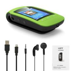 Beli Hott A505 8 Gb Mp3 Mp4 Player Pemutar Musik Stereo For Olahraga Pedometer Fungsi Bluetooth Fm Radia With Tf Slot Kartu 1 8 Layar Lcd Klip Warna Hijau Internasional Yang Bagus