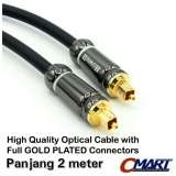Promo Howell Kabel Fiber Optic Audio Cable Optical Optik Optikal 2M Murah