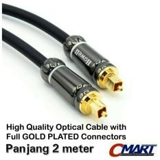 Harga Howell Kabel Fiber Optic Audio Cable Optical Optik Optikal 2M New