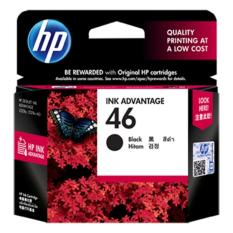 HP 46 Black Ink Cartridge - Hitam