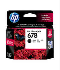 Hp 678 Catridge Black Tinta Printer Hp Diskon 40
