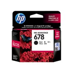 HP 678 Tinta Black Ink Cartridge