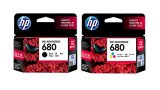 Hp 680 Black Colour Ink Catridge Original