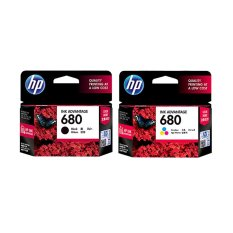 HP 680 Black + Colour INK Catridge