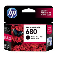Jual Hp 680 Black Ink Cartridge Di Indonesia