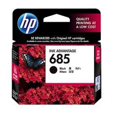 Beli Hp 685 Black Ink Cartridge Hitam Hp Dengan Harga Terjangkau