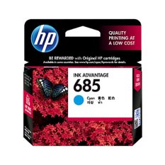 Jual Hp 685 Cyan Ink Cartridge Biru Antik