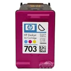Jual Beli Hp 703 Tri Color Original Ink Cartridge Pink Baru Dki Jakarta