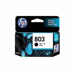 HP 803 Black Original Ink Cartridge (Hitam)