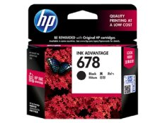 HP Black Ink Cartridge 678