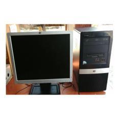 HP, buildup core 2 duo e8400,[hitam]