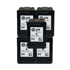 Harga Hp Cartridge 678 5 Pcs Hitam Original