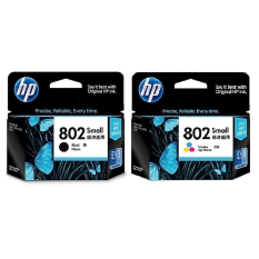 Hp Cartridge 802 Black 802 Colour Ink North Sumatra Diskon