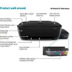 Hp Deskjet Gt 5820 All-In-One Printer  Peripheral Komputer