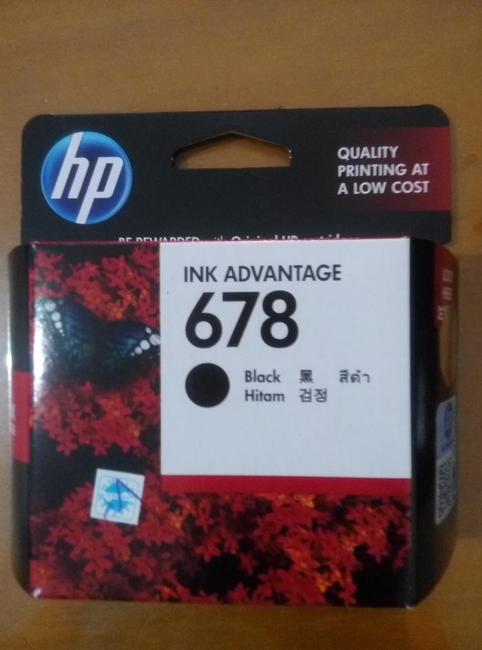Harga Hp Deskjet Ink Advantage 678 Black Branded