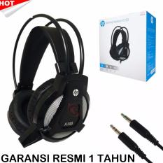 Hp Gaming Headset H100 Hitam Hp Diskon 50