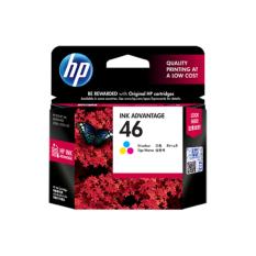 Harga Hp Ink And Toner Cartridge 46 Tri Color Original Cz638Aa Hp Ink And Toner Cartridge