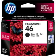 Jual Hp Original 46 Ink Catridge Black Cz637Aa Antik