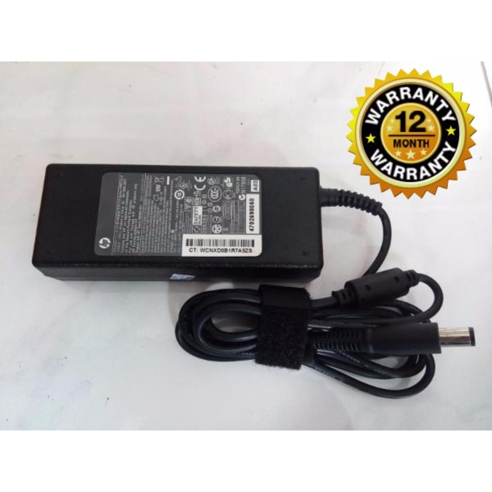HP Original Adaptor Charger Laptop Notebook Pavilion DV9000 Series 19 V 4.74 A BIG (Jarum 7.4*5.0) Berikut Kabel Power