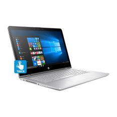HP Pavilion X360 14-BA005TX - Intel Core i7-7500U - RAM 8GB - 1TB + 128GB SSD - Nvidia GT940MX - 14' - Windows 10 - Silver