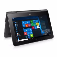 Jual Beli Hp Pavilion X360 Convert 11 Ab035Tu Intel Celeron N3060 4Gb 500Gb No Dvd 11 6 Touchscreen Windows 10 Black Di North Sumatra
