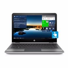 Hp Pavilion X360 Convert 13 U172Tu Intel Core I5 7200 8Gb 1Tb 13 3 Touchscreen Windows 10 Silver Hp Diskon 30