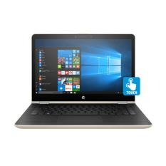 HP Pavilion X360 Convert 14-BA134TX GOLDEN - [Intel Core i5-8250U 1.6-3.4GHz/8GB DDR4/1TB/G940MX 2GB DDR3/14