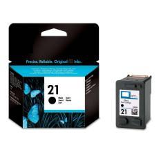 HP 21 Black Ink Cartridge C9351AA - Hitam