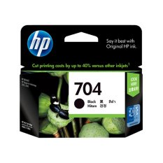 HP Tinta 704 - Hitam