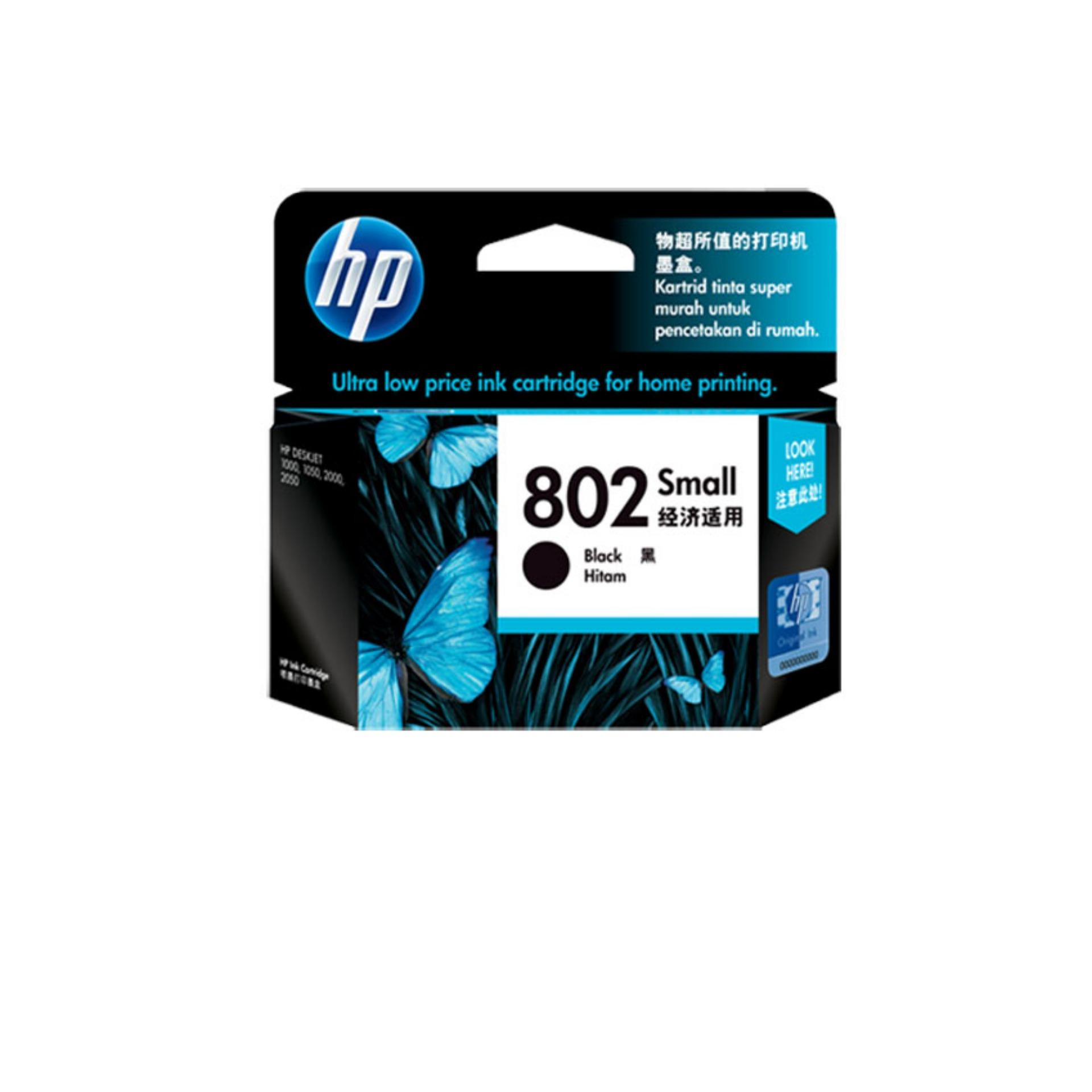 Hp Tinta 802 Small Black Terbaru