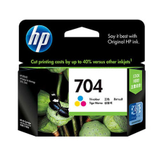 Toko Hp Tinta Printer 704 Color Lengkap