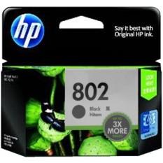 Harga Hp Tinta Printer Hp 802 Black Xl Baru Murah