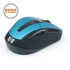 Harga Hp Wireless Optical Mouse 2 4 Ghz Hitam Biru Baru