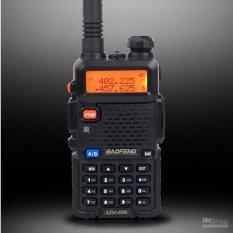 Ht Baofeng Uv 5R Handy Talkie Dual Bang Baofeng Uv 5R Uv5R Warna Black Hitam Di Jawa Timur