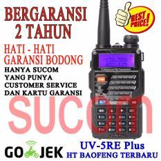 Ht Baofeng Uv5r Terbaru Uv5re Dual Band Walkie Talkie