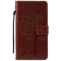 HTC Desire 825 Case, [FQY-TEC] [Kopi] [Embossed] C [PU Leather] dan [TPU] Dompet, Slot Kartu, Berdiri Case For HTC Desire 825 (5.5 Cm)-Internasional