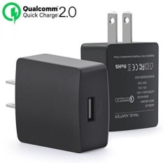 HTC One M9 Charger, Cokusky [Quick Charge 2.0] 18W Adaptive Fast Charging USB Wall Charger wirh Micro USB 2.0 Cable for HTC One M9 /M8 /Desire Eye /Butterfly 2 and more - intl