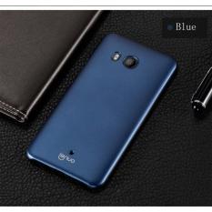 HTC U11 Case, Lenuo Ledun PC Exact Fit Ultra Slim Thin Handy Shield Shell Hard Back Case Protective Cover for HTC U11 - Blue - intl