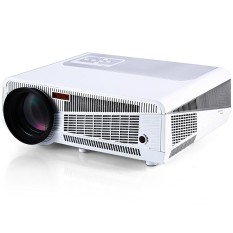 Toko Htp Led 86 Full Hd 1080P Multimedia Led 3600 Lumens Projector Built In Android Wifi Support Tv Hdmi Vga Av Usb Rj45 Input Intl Termurah