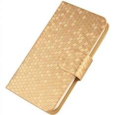Huawei Ascend Y220 Case Glitz Cover Casing - Gold