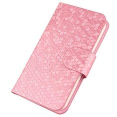 Huawei Ascend Y220 Case Glitz Cover Casing - Pink