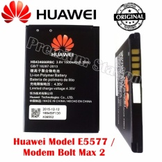 Huawei Baterai Type: HB434666RBC Berkapasitas: 1500 mAh Voltage: 3.8V For Modem Huawei E5577C Hitam - Original