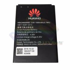 Huawei Battery For Modem Mifi 4G LTE Huawei E5577 Original Li-ion Polymer Batteries 1500mAh Model HB434666RBC / Baterai / Batre / Batere / Batu Batre / Baterai Huawei - Hitam