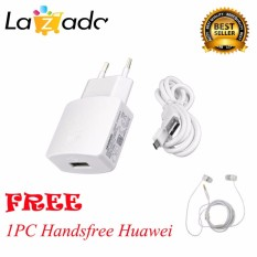Jual Huawei Charger Cable Data Original Putih Huawei Stereo Portable Handsfree Headphone Headset Earphone Original Putih Grosir