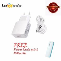Huawei Charger Cable Data Original Putih Power Bank Mini 5000Mah Huawei Diskon 40