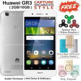 Toko Huawei Gr3 Ram 2Gb Rom 16Gb Fingerprint 4G Silver White Online