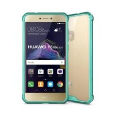 Huawei Honor 8 Lite dan P8 Lite (2017) Acrylic + TPU Transparan Armor Pelindung Case (Hijau) -Intl